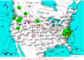 2006-06-14 Surface Weather Map NOAA.png