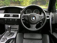 Bmw 5 series e60 wikipedia interior pre facelift sciox Choice Image