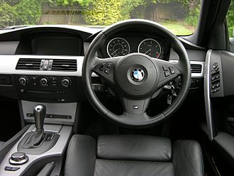 BMW 5 Series (E60) - Interior (pre-facelift)