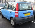 2006 Fiat Panda Active 1.1 Rear.jpg