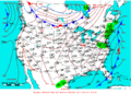 2007-05-18 Surface Weather Map NOAA.png