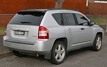 Jeep Compass Limited (Australia; Pre Facelift)