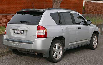 Jeep Compass - Jeep Compass Limited (Australia; pre-facelift)