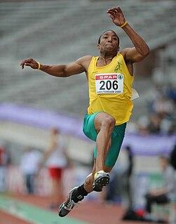 Fabian Florant Dominican born Dutch triple jumper