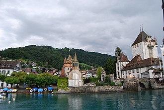 Oberhofen am Thunersee - Oberhofen and Oberhofen Castle