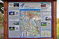 2012 Karwina, Łąki, Mapa szlaku rowerowego Racibórz - Krzyżanowice - Chotěbuz (01).jpg
