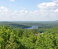 2013-05-12 10 55 03 Pompton Lake viewed from the Lookout Trail in Ramapo Mountain State Forest in New Jersey.jpg