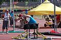 2013 IPC Athletics World Championships - 26072013 - Jamil Elshebli of Jordan during the Men's Shot put - F56-57 3.jpg