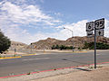 2014-07-17 12 22 12 View east along U.S. Route 6 at the junction with U.S. Route 95 about 1.8 miles east of the Esmeralda County Line in Tonopah, Nevada.JPG