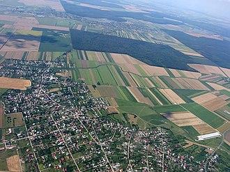 Otopeni - Aerial view of Otopeni