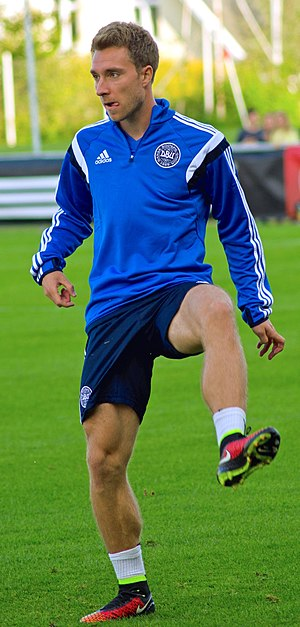Christian Eriksen - Eriksen training with Denmark in 2014