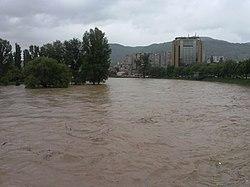 2014 Bosnia and Herzegovina floods Kamerovica flied.jpg