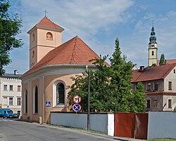 2014 Bystrzyca Kłodzka, kościół św. Jana Nepomucena.JPG