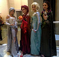 2014 Dragon Con Cosplay - Elsas of the Elements 1 (15123840575).jpg