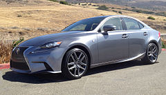 2014 Lexus IS 250 F-Sport (GSE30, US)