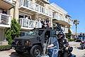 2014 Los Angeles Kings Stanley Cup parade Brown, Toffoli, & The Cup (14432718836).jpg