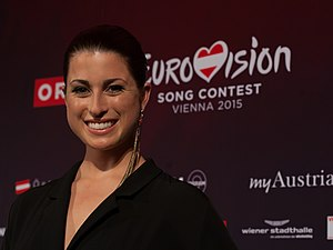 Germany in the Eurovision Song Contest 2015 - Ann Sophie during a press meet and greet