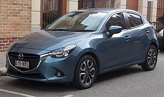 Mazda Demio Supermini manufactured and marketed globally by Mazda