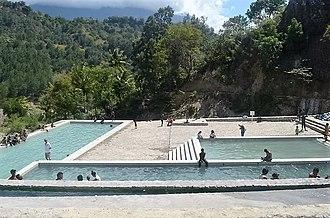 Ermera Municipality - Hot springs of Marobo