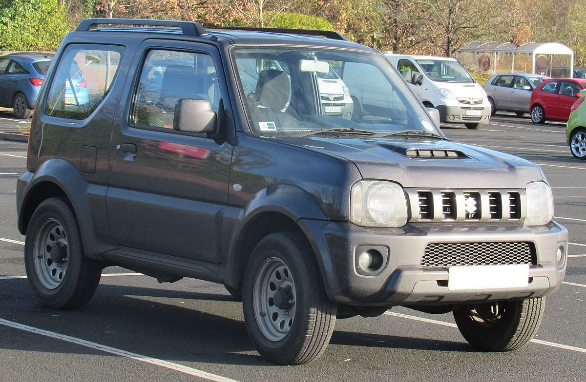 suzuki jimny wikip dia a enciclop dia livre. Black Bedroom Furniture Sets. Home Design Ideas