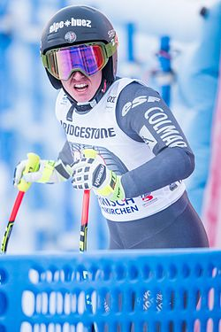 2017 Audi FIS Ski Weltcup Garmisch-Partenkirchen Damen - Jennifer Piot - by 2eight - 8SC8413.jpg