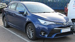 2017 Toyota Avensis Business Edition facelift 2.0 Front.jpg