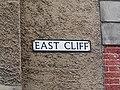 2018-04-01 Street name sign, East street, Cromer.JPG