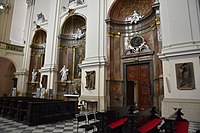 2019 Interior of the Cathedral of Saints Peter and Paul in Brno 04.jpg