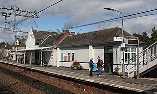 Dunblane railway station railway station in Stirling, Scotland, UK