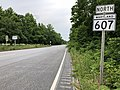 2020-06-22 17 15 11 View north along Maryland State Route 607 (Magothy Bridge Road) at Maryland State Route 100 (Paul T Pitcher Memorial Highway) in Pasadena, Anne Arundel County, Maryland.jpg