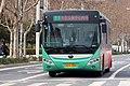 20200313 Yutong E10 on Zhengzhou BRT Route B19.jpg
