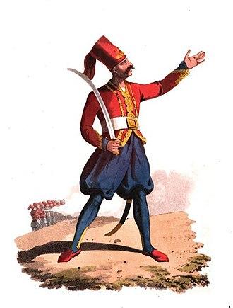 Nizam-i Djedid Army - Image: 24 Officer of European Infantry
