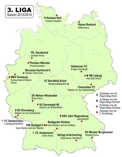 fussball liga system deutschland