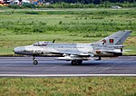 427 Bangladesh Air Force F-7 Air Guard Taxiing (8157531118).jpg
