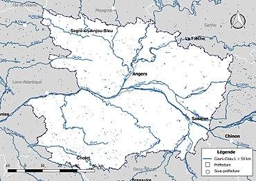 Liste Des Cours Deau De Maine Et Loire Wikipédia