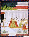 4 New entrant to a princes harem. Jaipur, late 18 century, National Museum New Delhi (2).jpg