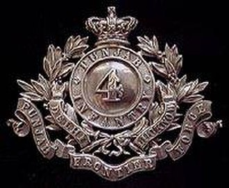 4th Punjab Infantry Regiment - Image: 4 Punjab Inf