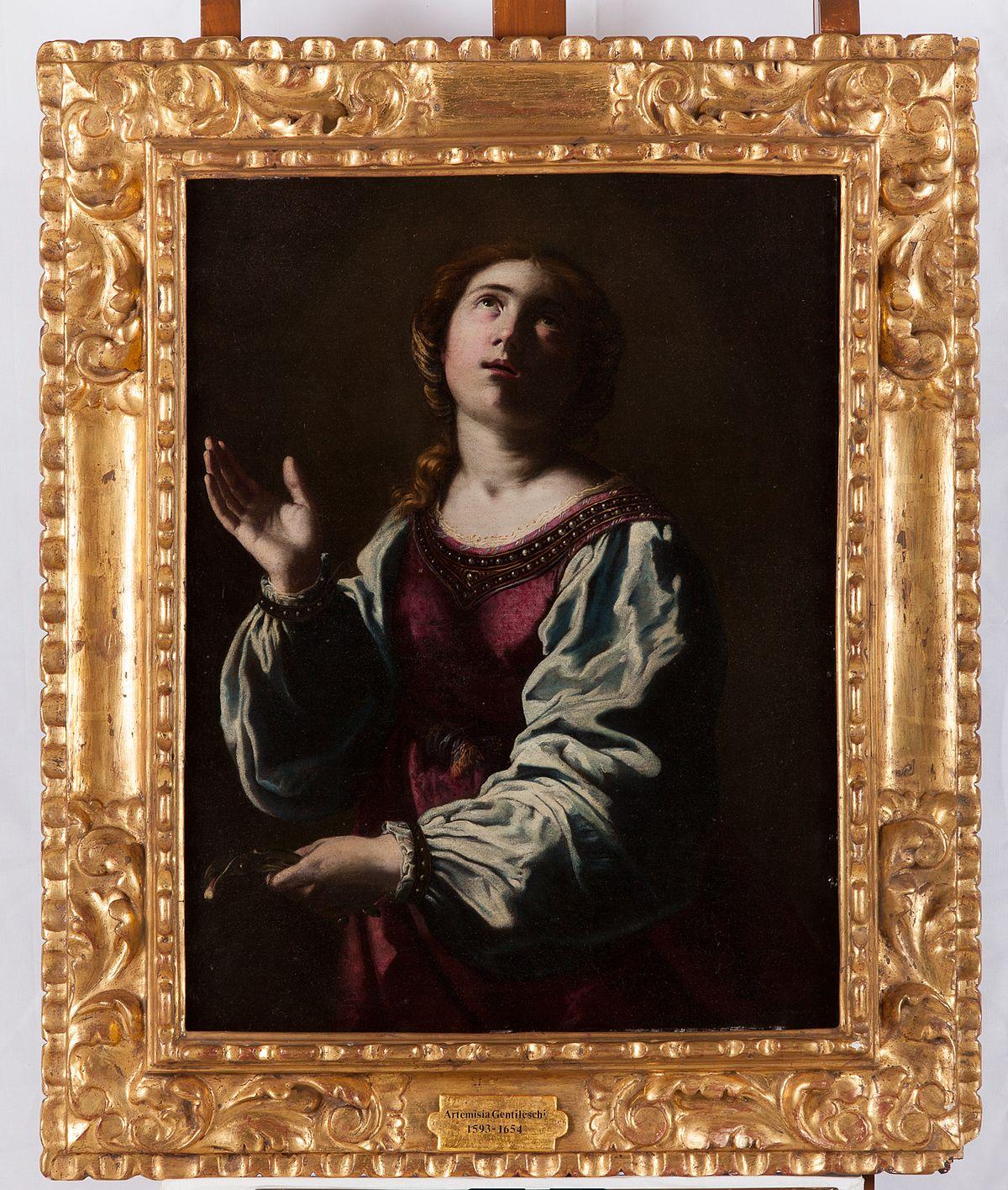 Saint Apollonia Artemisia Gentileschi Wikipedia