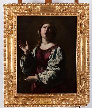 Saint Apollonia (Artemisia Gentileschi) - WikiVisually