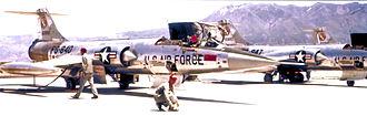 538th Fighter-Interceptor Squadron - Image: 538th Fighter Interceptor Squadron F 104s Luke AFB 1958