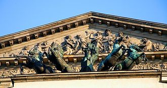 Grand Theatre, Warsaw - Apollo's quadriga