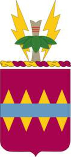 725th Support Battalion (United States) - Coat of arms of the 725th Support Battalion
