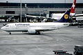 79ae - Lufthansa Boeing 737-330; D-ABEW@ZRH;02.01.2000 (5888297776).jpg