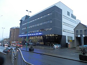 Alliance Trust - Alliance Trust offices at 8 West Marketgait, Dundee