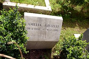 affiche Amelia Rosselli