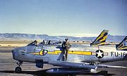 92d Fighter-Interceptor Squadron - North American F-86A-5-NA Sabre - 49-1161