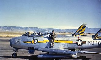 92d Cyberspace Operations Squadron - 92d FS F-86A 49-1161