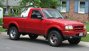AutoAlliance Thailand - 1998-00 model year Ford Ranger.