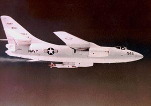 ASM-N-8 Corvus - Image: A 3B with Corvus missile at Point Mugu range