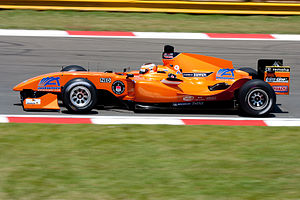 2008–09 A1 Grand Prix of Nations, South Africa - Jeroen Bleekemolen won the race from pole position for A1 Team the Netherlands, his first win in the series.